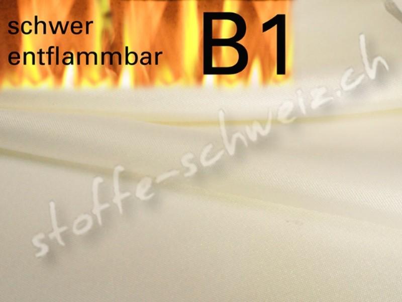 Satin B1 Stoff schwer entflammbar div. Farben