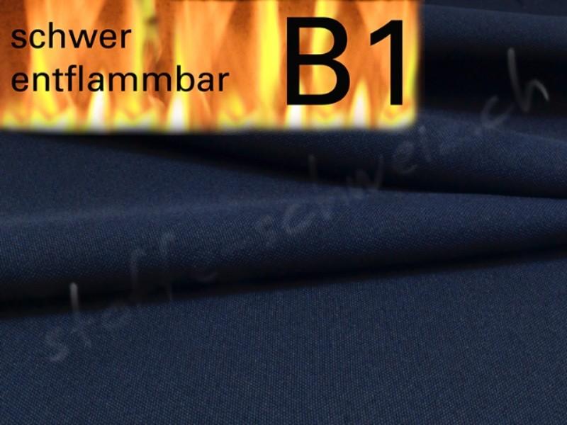 Segeltuch 6,10 breit Stoff B1 permanent schwer entflammbar
