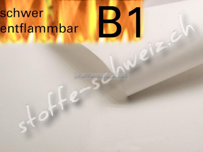 Beamer Leinwand Stoff B1 3,20 breit 2m lang weiss