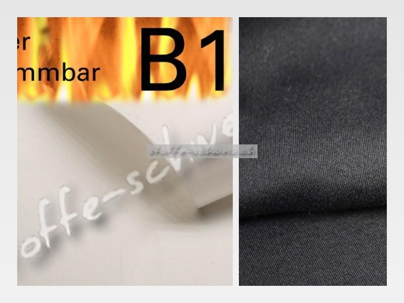 Musterkarte Farbkarte Blackout Stoff 308 cm B1
