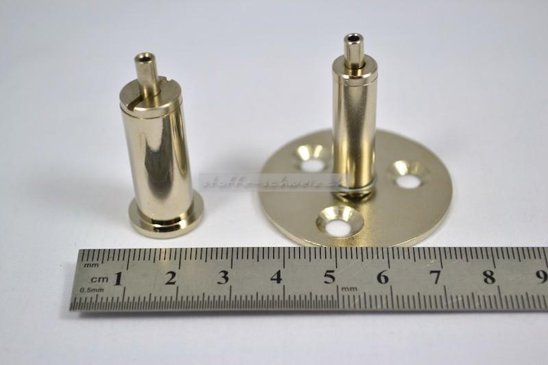 Boden - / Deckenhalter für Alu Profil Schiene