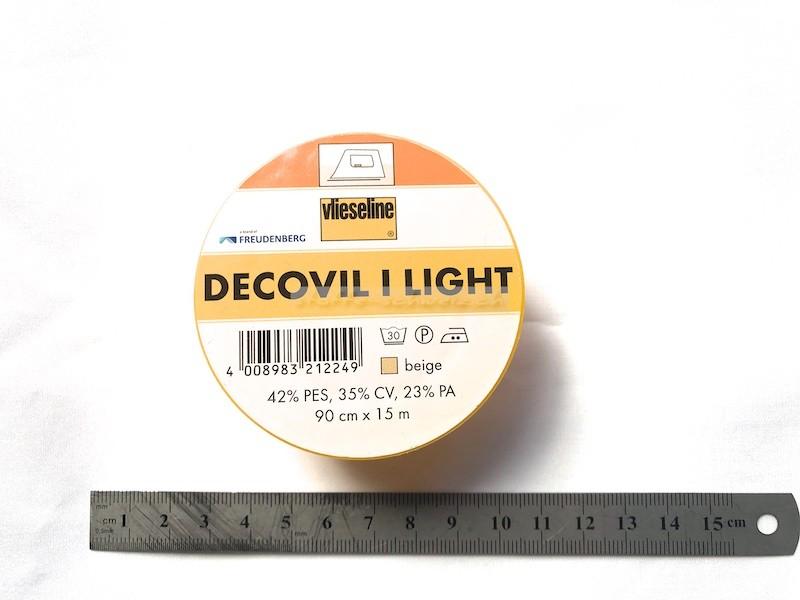 Original Vlieseline Decovil I light 90cm beige