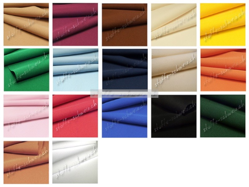 Edel - Baumwolle Stoff div. Farben 1,50 m breit