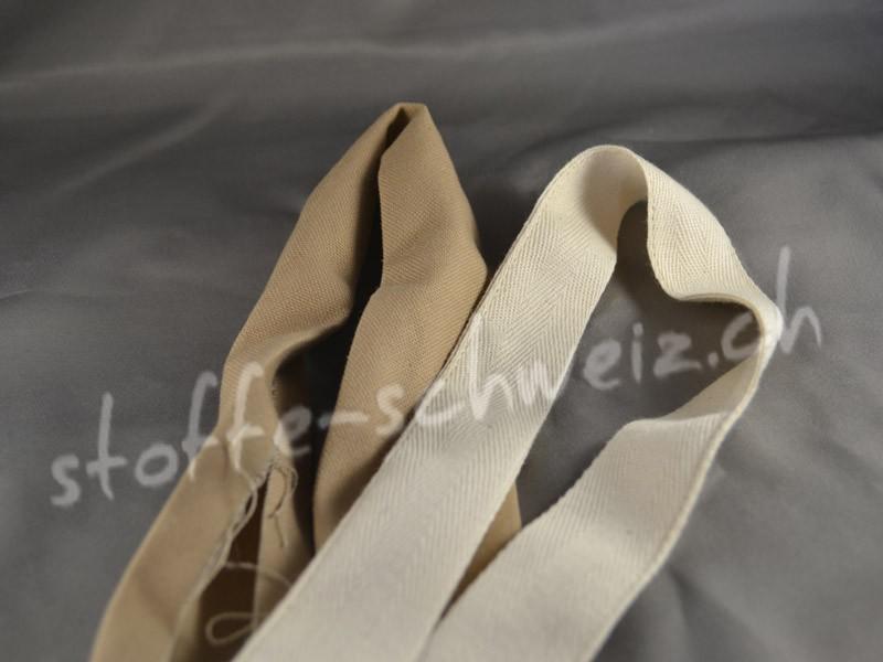 Einfassband Schrägband div. Farben für Stoff pro Laufmeter