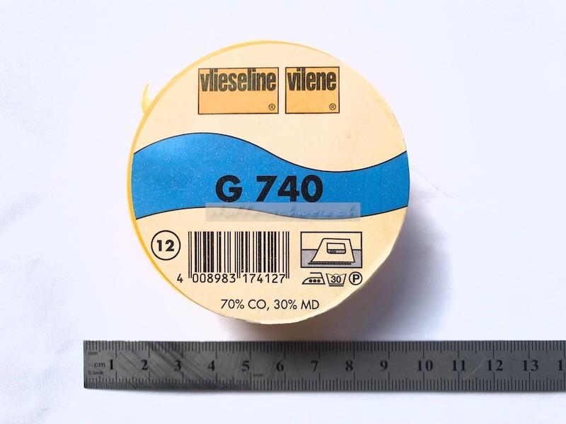 Original Vlieseline Baumwolle G 740 90cm Ecru