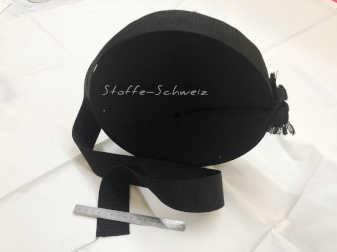Verstärkungsband Gurtband 50mm schwarz