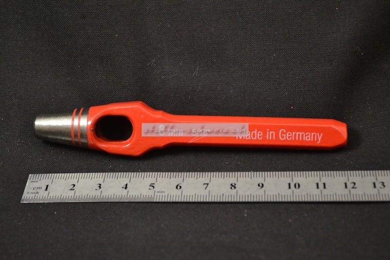 Locheisen Henkellocheisen 7mm für Tenax und Oesen