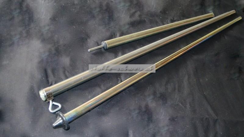 Aufstellstab Zeltstange 22 mm 165-250 Teleskopierbar