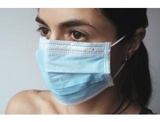 Mundschutz Hygiene Maske mit Ohrschlaufen 10er