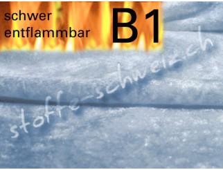 Pannesamt B1 Stoff div. Farben schwer entflammbar