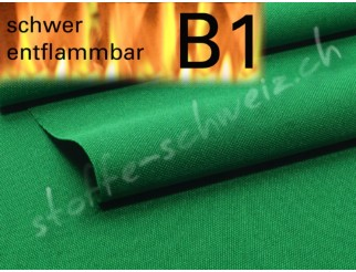 Segeltuch 3,10 breit Stoff B1 permanent schwer entflammbar