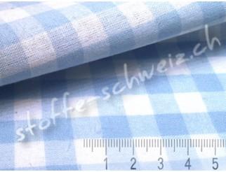 Baumwollstoff Züchen Vichy Karo gross B1