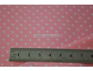 Baumwolle Stoff kleine Tupfen 1,40 m breit