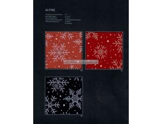 Polyester Stoff Alpine Dekostoff Weihnachten