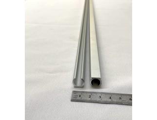 Alu Profil Keder Schiene leicht pro Laufmeter