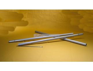 Aluminium Rohre Stangen 80cm lang 28mm steckbar teleskopierbar