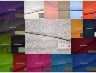Musterkarte Farbkarte Bündchenstoff mit Ripp