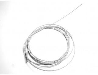 Drahtseil flexibel 2mm 5m Stück