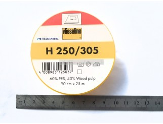 Original Vlieseline stabile Fixiereinlage H250 weiss