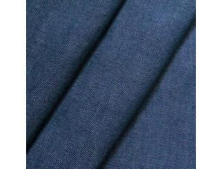Stretch Denim Jeans Stoff dunkelblau mittelschwer