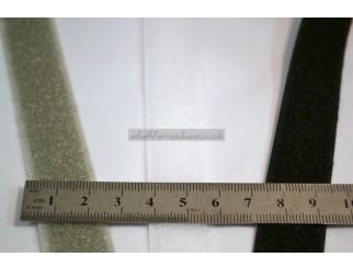 Klettband Velcro Flausch div. Farben zum Kleben pro Laufmeter