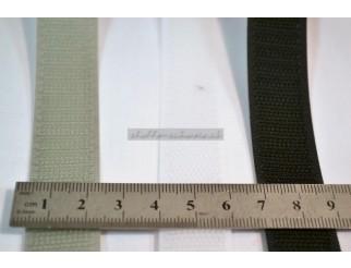 Klettband Velcro Hake div. Farben zum Kleben pro Laufmeter