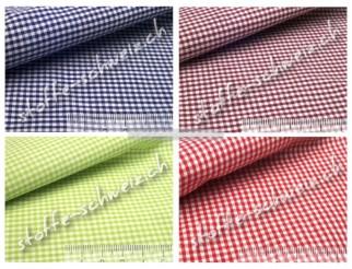 Baumwollstoff Vichy Karo Mini Hemden Qualität