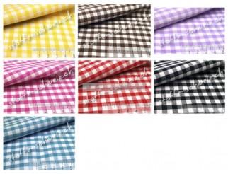 Baumwollstoff Vichy Karo Mittel Hemden Qualität