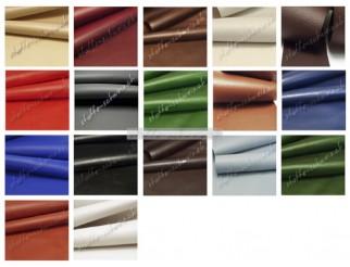 Musterkarte Farbkarte Nappa Deluxe Leder Imitat