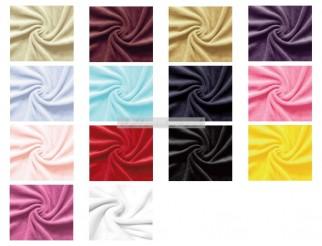 Baumwolle Nicki Nicky Stoff div. Farben 1,45 m breit