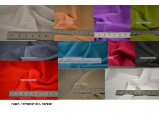 Peach Polyester 1,45m breit