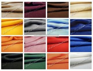 Polar Fleece div. Farben Stoff 1,40 breit