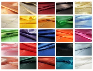 Satin Stoff div. Farben Stretch