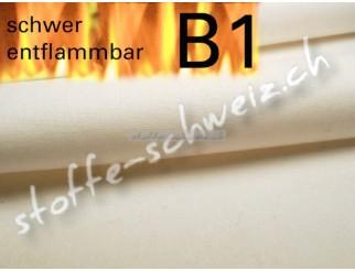 Segeltuch 1,50 breit Stoff B1 leicht Farbe Sand