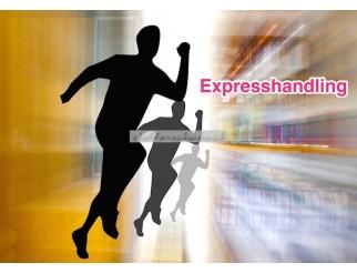 Expresshandling für schnelle Abwicklung