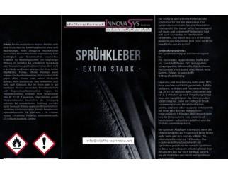 Sprühkleber Kleber Extrastark Spray 500ml Dose
