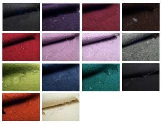 Walkloden 100% gekochte Wolle Stoff div. Farben